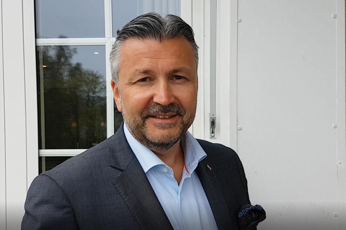 Administrerende direktør Svein Arild Steen-Mevold i Scandic Hotels Norge. Foto fra NHO Reiseliv.