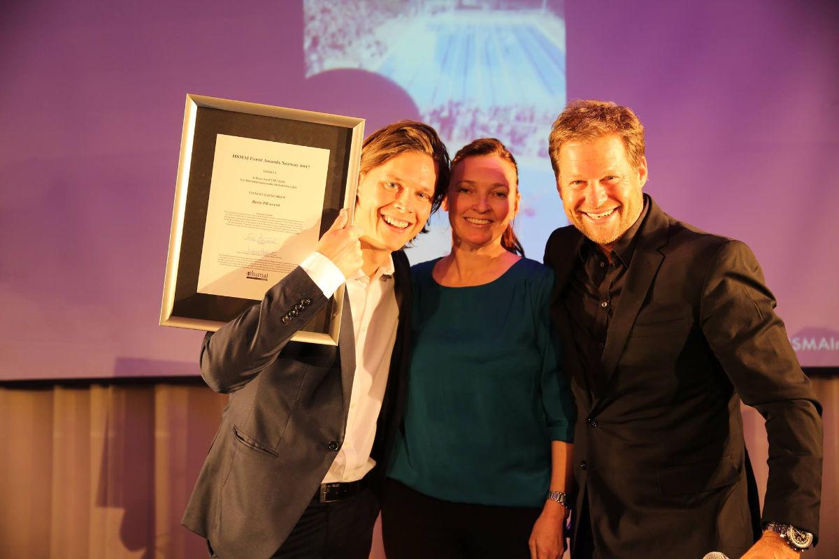 6. Sans fikk gullet i kategorien beste PR-event. Fotograf: Camilla Bergan.