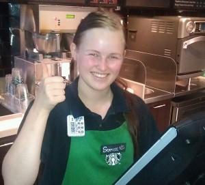 Sophie, Starbucks