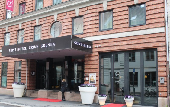 First Hotel Grims Grenka i Oslo.