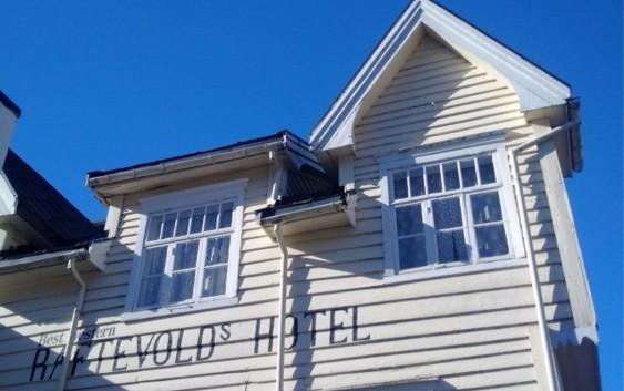 Best Western Raftevold's Hotel i Hornindal (foto fra Best Western).