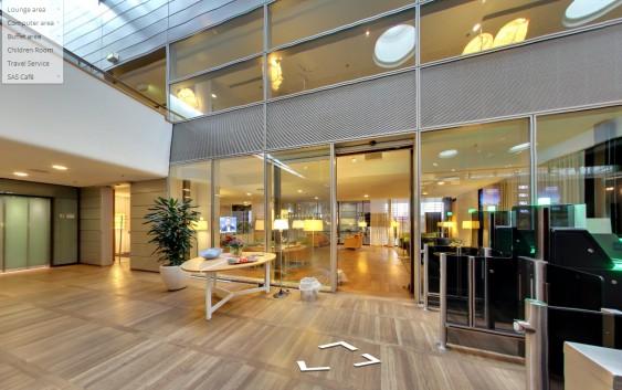 SAS' lounge i København.