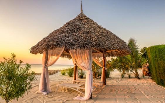 Strandhytte (foto fra TravelLink).