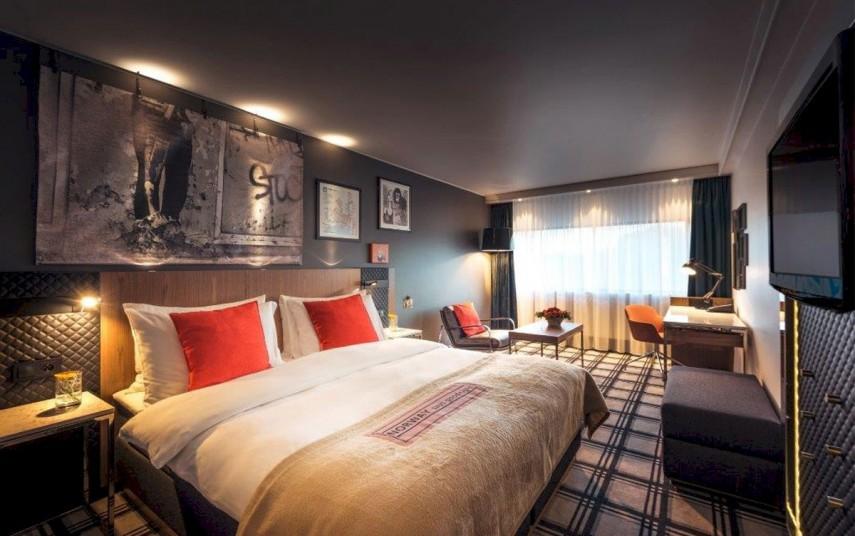 Ved Radisson Blu Scandinavia Hotel i Oslo og Radisson Blu i Bodø er flere av rommene allerede pusset opp. Fotograf: Aksel Jermstad.