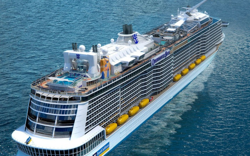 "RCL Cruises' ""Quantum of the Seas"". Foto fra RCL Cruises"