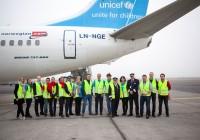 Norwegian og Unicef sendte nødhjelp til Jordan