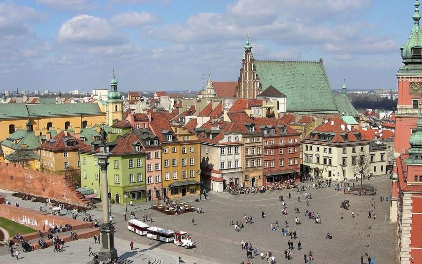 Gamlebyen i Warszawa. Fotograf: Adrian Grycuk/Wikimedia Commons