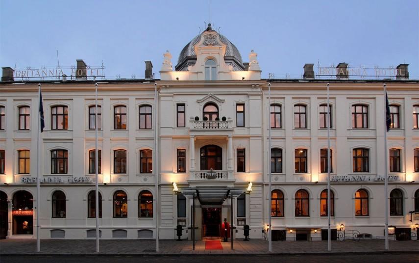 Britannia Hotel i Trondheim. Foto fra Thon Hotels