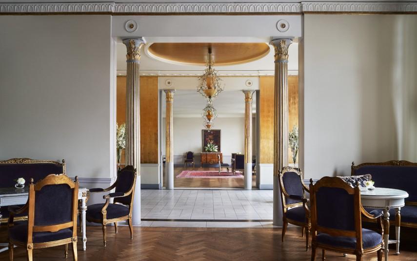 Interiør fra Grand Hotel i Stockholm.