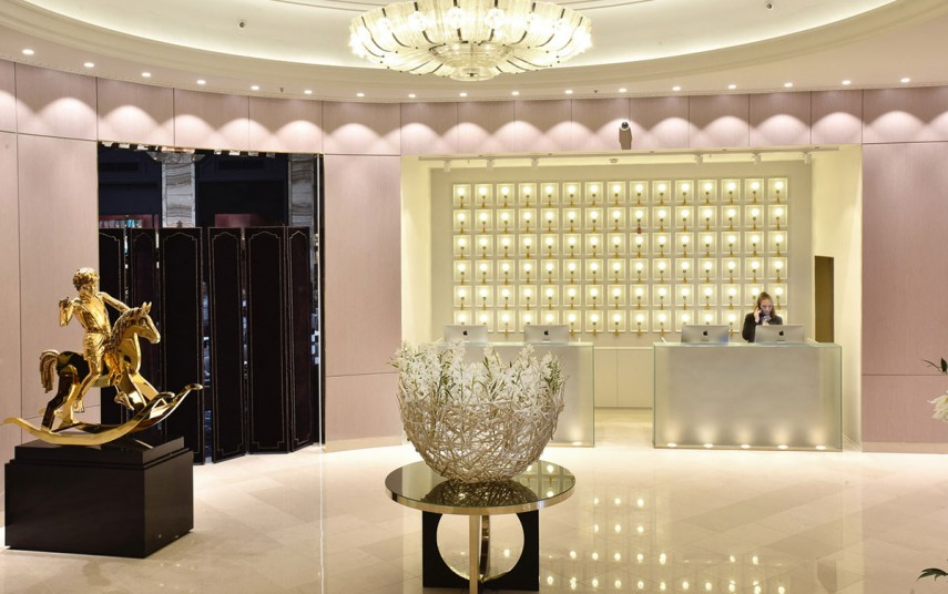 Den nye lobbyen på Grand Hotel i Oslo. Foto fra Grand Hotel.