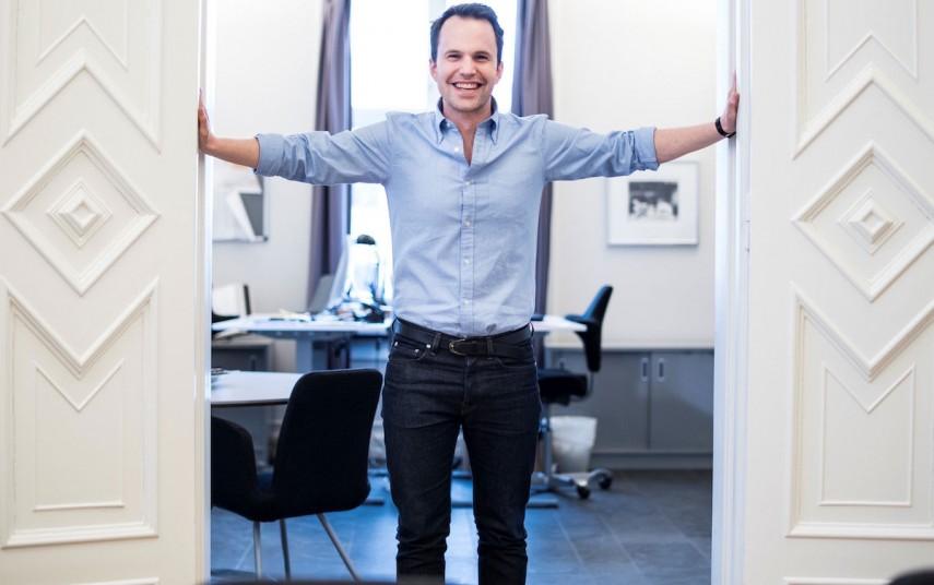 Pierre Wilhelm Jansson, CEO, Frogner House Apartments. Fotograf: Peter Bryng, Bryng Media.