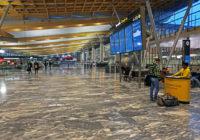 Julestengt Oslo lufthavn