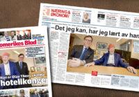 Morten Thorvaldsen hovedoppslag i Romerikes Blad
