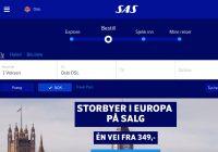 SAS med ny hjemmeside