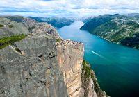 Lysefjorden har fått Merket for bærekraftig reisemål
