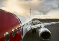 Norwegians første Arlanda-fly landet i dag tidlig