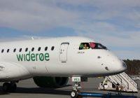 Widerøes verdensnyhet landet på Bergen lufthavn for første gang