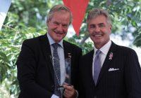 Kjos får «Ambassador's Award» for bidrag til styrking av norsk-amerikanske forhold