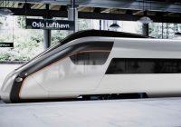 Flytogets nye tog er kommet til Norge