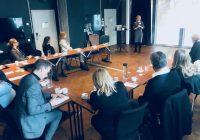 Vellykket frokostmøte i Stockholm