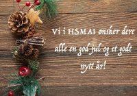 HSMAI ønsker deg og dine en riktig God Jul og et Godt Nytt År!